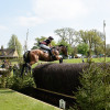 So close to completion - Sarah Bullimore flies the Fischer Brush on her way to a fantastic clear round with Reve Du Rouet
