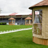 The judge's boxes provided by Crown Pavilions at Mitsubishi Motors Badminton Horse Trials 2018