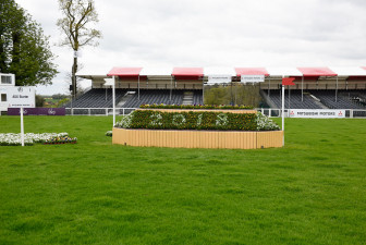 Fence 1 Mitsubishi Motors Badminton Horse Trials 2018