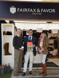 Winners! Fairfax and Favor scoop the prize for best 6m frontage and under trade stand