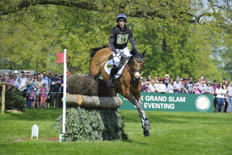 Oliver Townend flying round with Cooley SRS to take an early lead