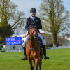 Sam Ecroyd looking happy with Kasseedorf after their test as this year's guinea pig combination