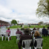 Fans flocked to the main arena to watch the dressage