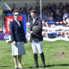 The Princess Royal presents Cotswold Life trophy - the local rider's trophy to Tom McEwen
