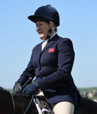 Two-time, Jane Holderness-Roddham back aboard at Badminton