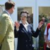 The Princess Royal with BHS Chairman David Sheerin