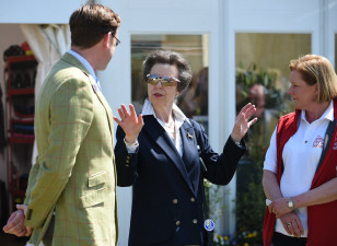 The Princess Royal with BHS Chairman David Sheerin