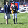 The Princess Royal presents the 3rd place awards to Rosalind Canter GBR
