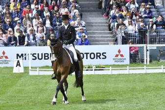 Cooley Rorkes Drift and Jonty Evans are the best placed Irish pair after dressage