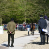All eyes were on the firs horse inspection this afternoon