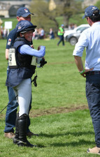 Ros Canter was absolutely delighted with her round on Allstar B, as were Christopher Bartle and Richard Waygood