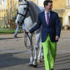 Harry Meade stealing all of the lime light... Literally!