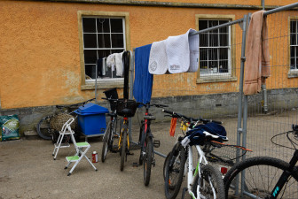 Stable set-up and a make make shift washing line