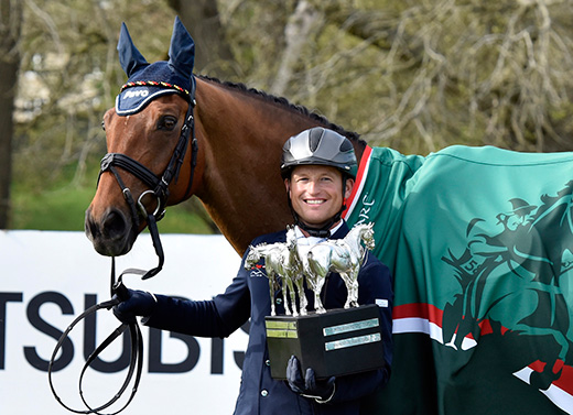 Michael Jung wins the Mitsubishi Motors Badminton Horse Trials 206 and takes the Rolex Grand Slam
