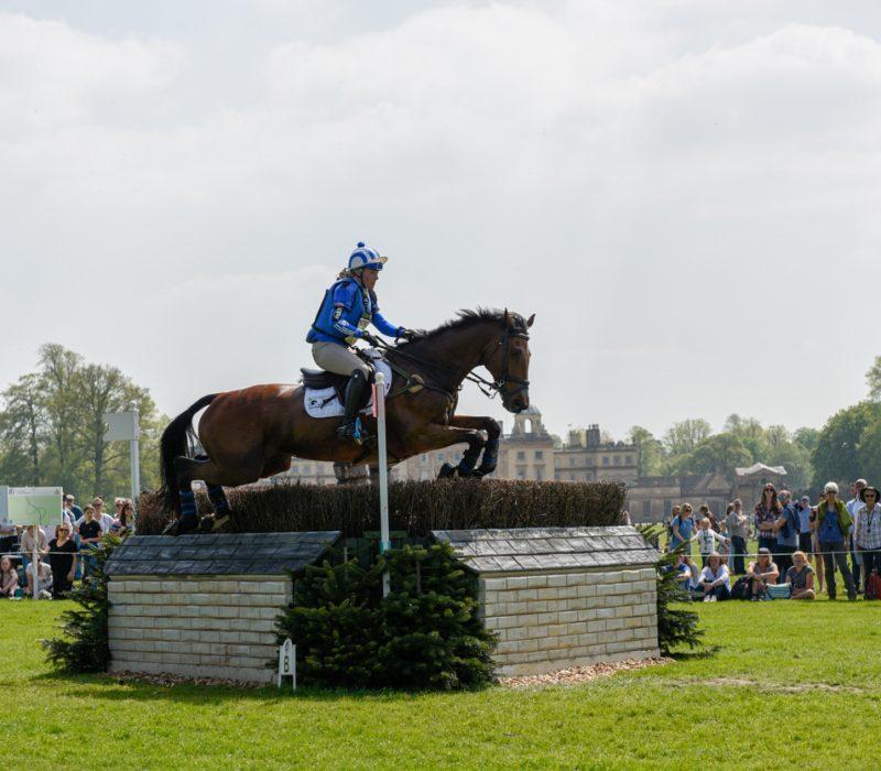 Imogen Murray riding Ivor Gooden